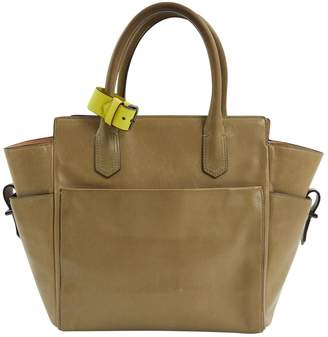 Reed Krakoff Green Leather Handbags