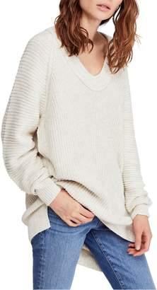 Free People Sunday V-Neck Sweater