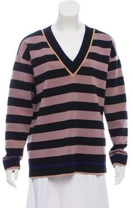 Diane von Furstenberg Striped Wool Sweater