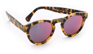 Illesteva Leonard Mirrored Sunglasses