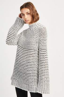 French Connenction Zoe Knit High Neck Jumper