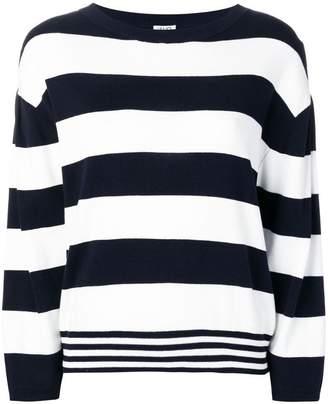 Liu Jo striped knitted jumper