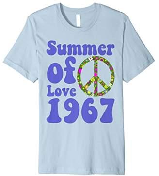 1967 Summer of Love Retro Tees Sixties Flower Power Shirt
