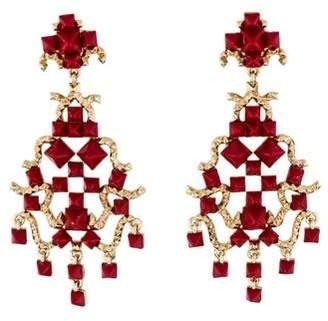 Valentino Rockstud Clip-On Drop Earrings