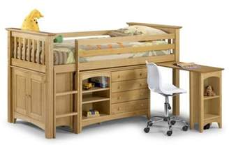 Abercrombie & Fitch Bunk Beds - Sleepers Premier Pine Shaker Style Sleep Station Single Childrens Bed Frame - 3Ft (90Cm) Single (30)