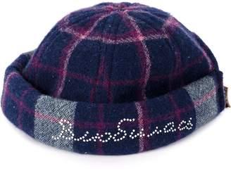 Natasha Zinko check knit hat