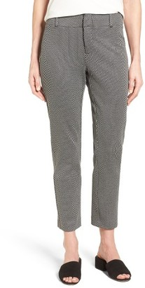 Women's Nydj Renee Stretch Jacquard Ankle Pants $130 thestylecure.com