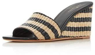80930ecd35fe Kate Spade Beige Leather Lined Women s Sandals - ShopStyle