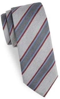 Charvet Striped Wool Tie