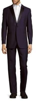 Peak Lapel Wool Tuxedo