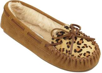 Minnetonka Leopard Cally Slippers
