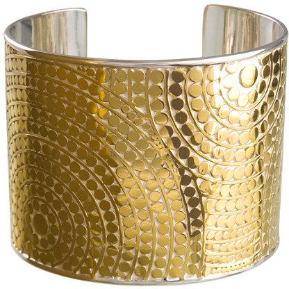 Anna Beck Rajua Wide Gold Cuff