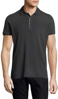 Diesel Men's Logo Cotton Polo