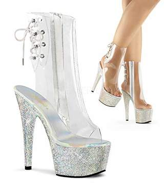 Pleaser USA Women's BEJEWELED-1018DM-7 Ankle Boot