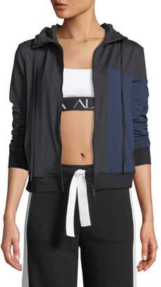 Alala Mesa Zip-Front Colorblock Active Jacket