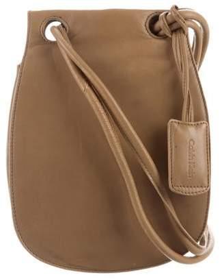 282e0ea7de2 Calvin Klein Collection Leather Crossbody Bag