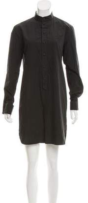 Tomas Maier Long Sleeve Mini Dress