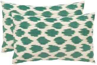 Safavieh Polka Dots Throw Pillow 2-piece Set