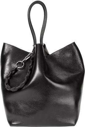 Alexander Wang Roxy Large Black Leather Tote