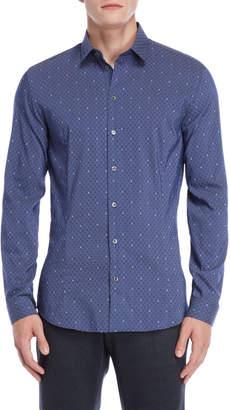 Patrizia Pepe Blue Jimmy Sport Shirt