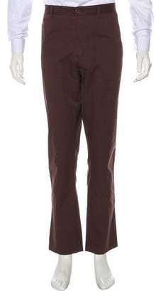 Burberry Flat Front Woven Pants