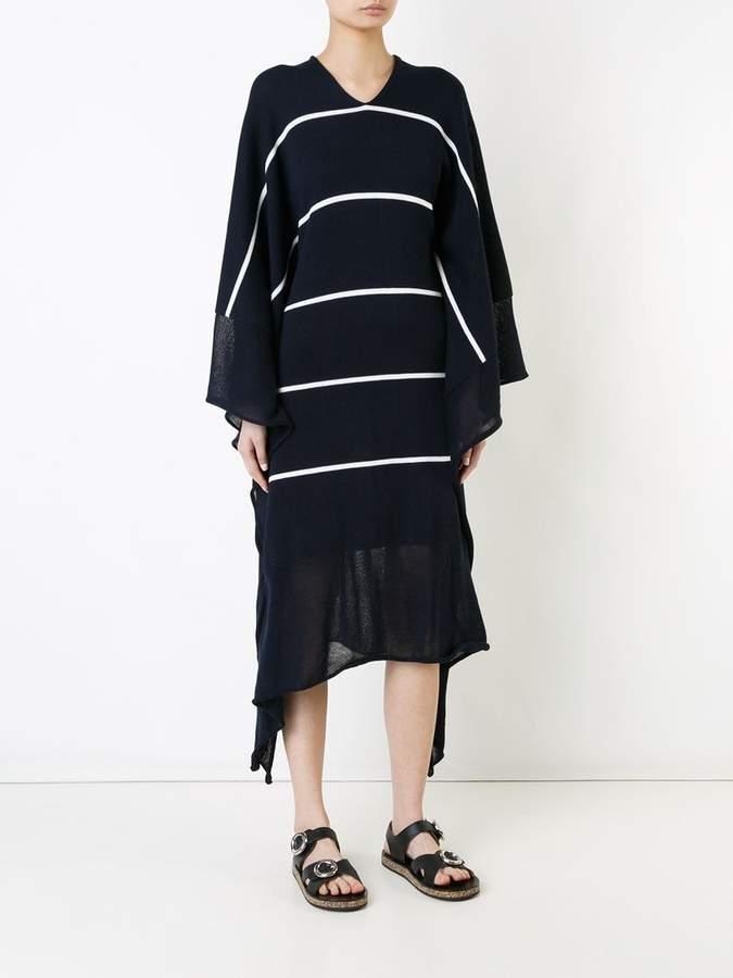 Stella McCartney knitted drape dress