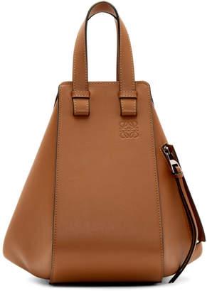 Loewe Tan Small Hammock Bag