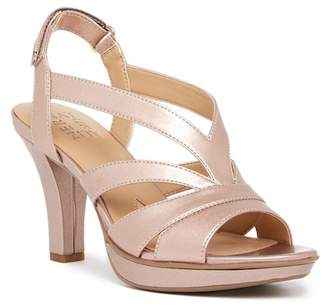 Naturalizer Delfinia Leather Heel Sandal