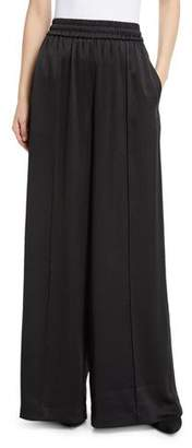 Alexander Wang Wash & Go Woven Wide-Leg Pants