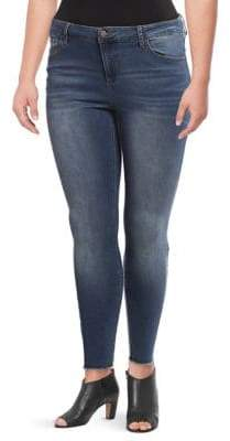 Lord & Taylor Design Lab Plus Cassie Skinny Jeans