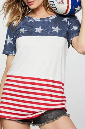 Bibi American Flag Top
