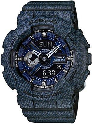 Baby-G (ベビーG) - [カシオ]CASIO 腕時計 BABY-G DENIM'D COLOR BA-110DC-2A1JF レディース