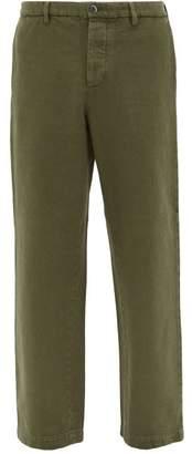 Barena Venezia - Velier Cotton Twill Trousers - Mens - Khaki