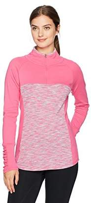 Columbia Women's Tested Tough in Pink Outerspaced Half Zip Jacket