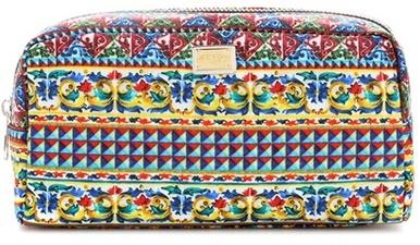 Dolce & GabbanaDolce & Gabbana Printed Cosmetic Case