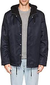 The Very Warm THE VERY WARM MEN'S TECH-TWILL COACH'S JACKET