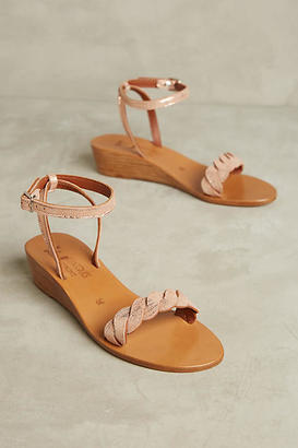 K. Jacques Sesame Micro Wedge Sandals $298 thestylecure.com