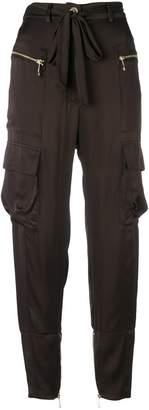 Just Cavalli drawstring waist trousers