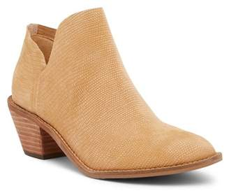 Kelsi Dagger Brooklyn Kenmare Lizard Embossed Leather Bootie