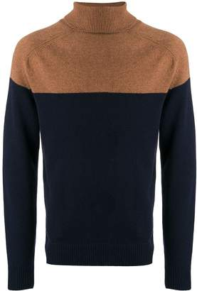 Eleventy roll neck sweater