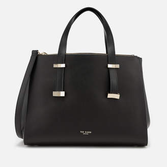Ted Baker Women's Alexiis Bow Adjustable Handle Large Tote Bag - Black