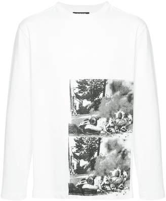 Calvin Klein x Andy Warhol Foundation car crash sweatshirt