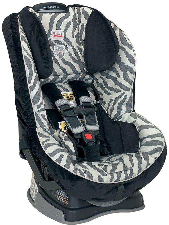 Britax boulevard 70 g3 convertible car seat - zebra
