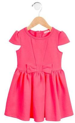 Billieblush Girls' Bow-Accented A-Line Dress