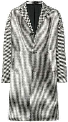 Joseph houndstooth trench coat