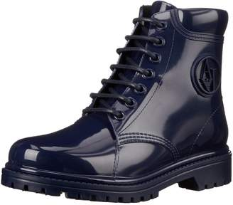 Armani Jeans Women's Jellie Combat Combat Boot