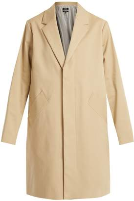 A.P.C. Silvana single-breasted cotton-blend coat