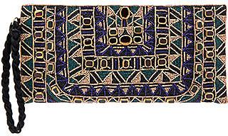 Antik Batik Sean Baguette Bag in Metallic Copper.