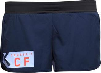 Reebok CrossFit Womens Knitted Woven 6cm Shorts Navy