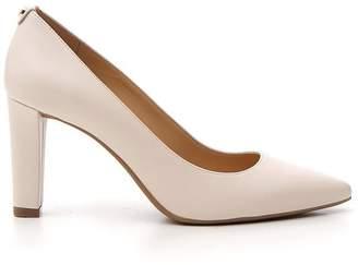 MICHAEL Michael Kors Pointed Toe Block Heel Pumps
